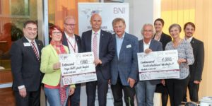 BNI-Spende an Hospiz u.a. September 2016
